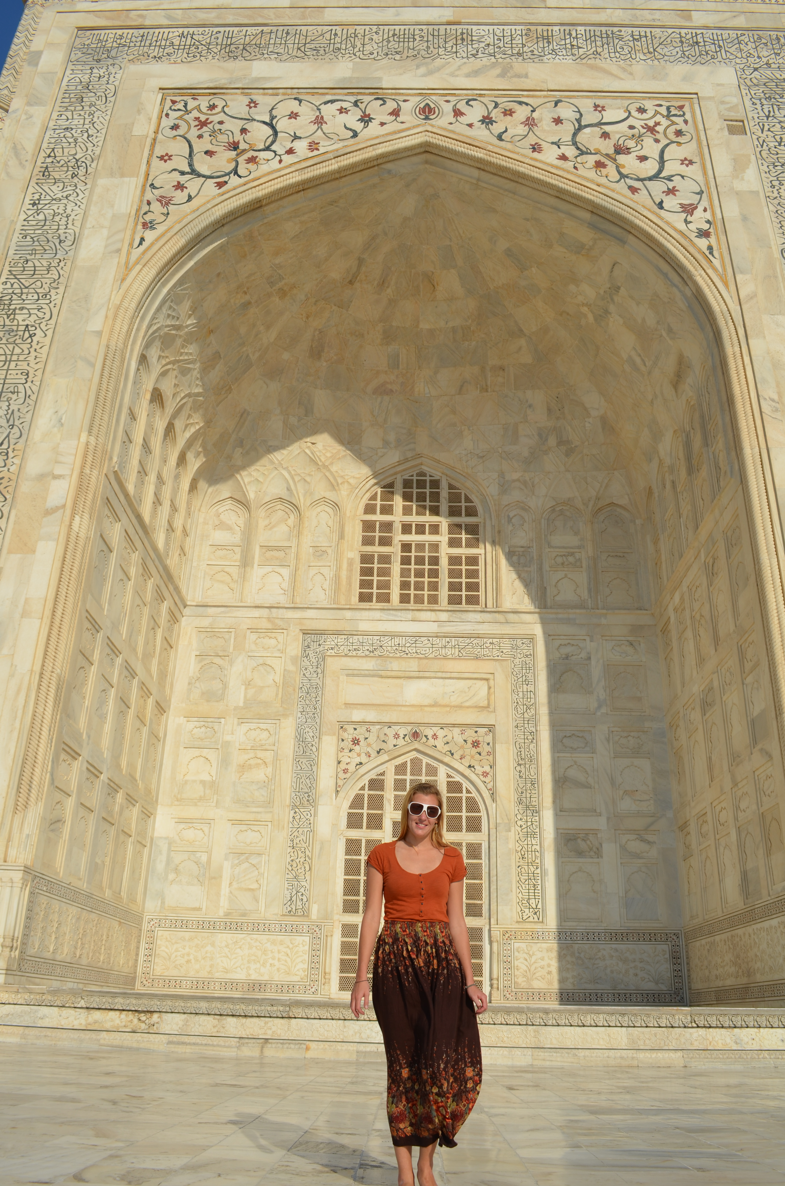 Taj mahal intentionally left blink for Inside and outside pictures