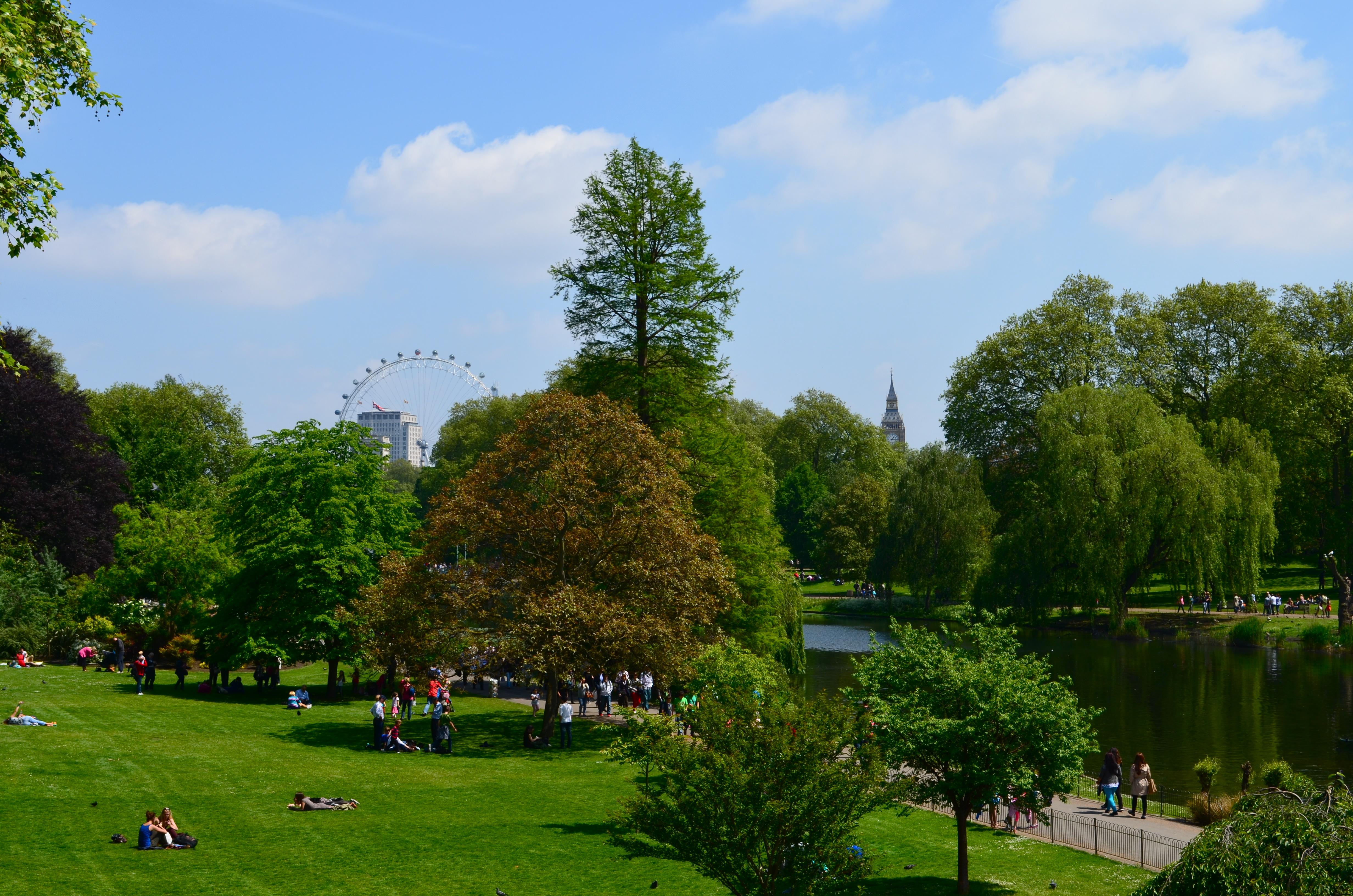 все равно, картинки с лондоном парки лондона свете